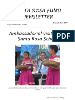 Santa Rosa Fund Newsletter Issue 29