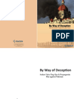 By Way of Deception - BrassTacks Policy paper on Indian False flag operations