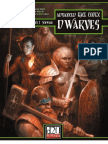 Advanced Race Codex - Dwarves