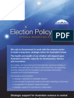 Election Policy 2013