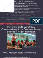Examining the Social Contract through Child Nutrition in Guatemala