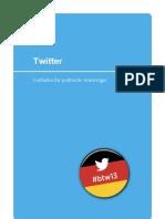 Twitter Leitfaden für politische Amtsträger