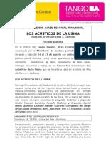 Tango Buenos Aires Festival y Mundial - Los Acusticos de la Usina.doc