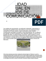 Realidad Virtual en Medios de Comunicaci�n.pptx