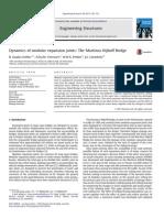 Dynamics of Modular Expansion Joints - The Martinus Nijhoff Bridge