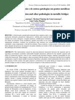 Verificação da corrosão e de outras patologias em pontes metálicas