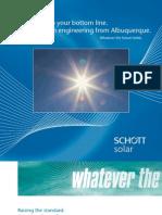 SCHOTT Solar German Engineering From ABQ