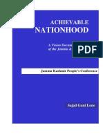 Achievable Nationhood