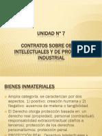 UNIDAD 7 - Propiedad Intelectual e Industrial