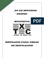 Manual Metrado Para Obras de Edificacion