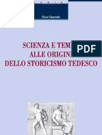 Silvia Caianiello Scienza e Tempo Alle Origini Dello Storicismo Tedesco Liguori Editore 9788820758738 EDGT19710 1339083663122 Preview