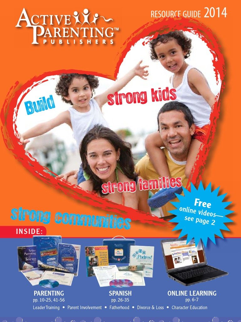 Active Parenting Publishers Products Catalog Parenting Relationships Parenting