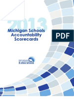 Michigan Schools Accountability Scorecard