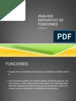 Analisis Derivativo de Funciones Unidad 1