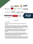 Free Speech Coalition Letter