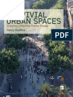 Convivial Urban Spaces Creating Effective Public Spaces
