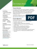 vSphere Install Configure Manage V5