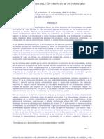 LOU- Ley Orgánica Universidades texto refundido