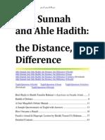 Ahle Sunnah And Ahle Hadïth