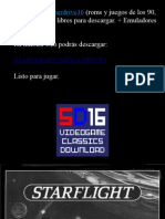 Starflight PC Manual de Instrucciones