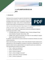 Lectura 4 - LA PLANIFICACIÓN DE UN EMPRENDIMIENTO