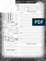 3e - Extended Character Sheet