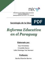 Reforma Educativa en Paraguay