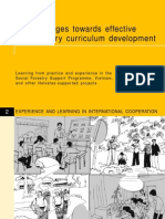 10 Key Stages Towards Effective Participatory Curriculum Development