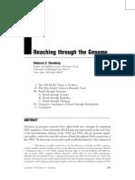 Sesion 10 LC. Eisenberg R, Reaching Through the Genome.