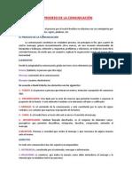 EL PRODESO DE LA COMUNICACIÓN-trabajo del libro