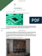 A história dos processadores - imprimir