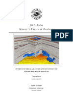 Master's Thesis in Geology