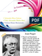 La Epistemología Genética De Piaget