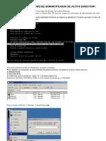 Resetear Pass de Administrador Ad Windows Server 2003
