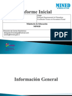 Presentación MINED Nicaragua