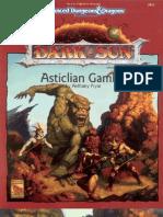 Dark Sun - Asticlian Gambit