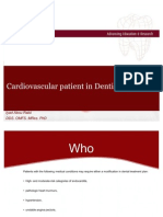 Cardiovasular Patient in Dentistry