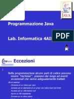 Java Eccezioni File Pile
