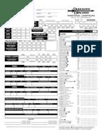 D&D - 3.0 - Devir - Aventuras Orientales - Campaign Setting - Hoja de Personaje [DD1010]