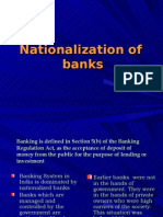 Bank Nationalization- Economics