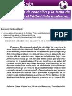 29 Velocidad Futsal