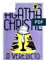 Agatha Christie - O Veredito