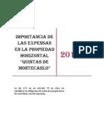 Importancia de Las Expensas en La Propiedad Horizontal (1)