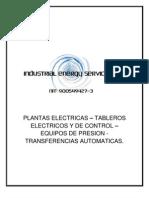 Presentacion de Industrial Energy Services Sas