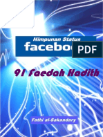 """91 Faedah Hadith"""