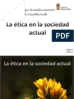La Etica en La Sociedad Actual