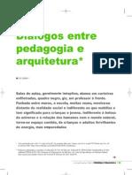 Arquitetura e Pedagogia