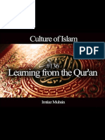 136 Learning From the Quran
