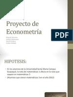 Proyecto de Econometría PPT