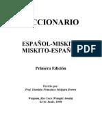 Diccionario Miskito Completo